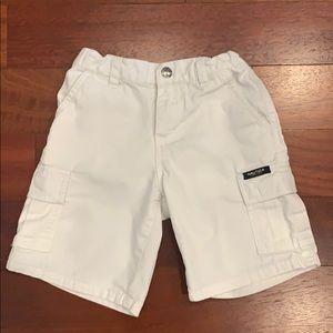 White cargo Náutica Shorts